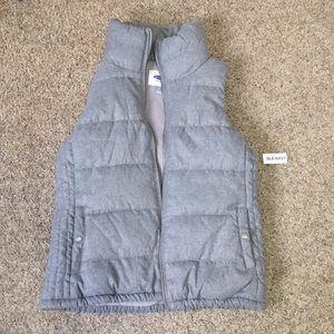 Old navy light gray vest